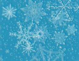 Snowflakes by Robert-Clell-Asher
