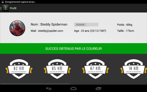 IHM nexus 7 - User profil by DeKey-s