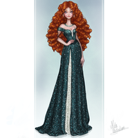Merida by MidaIllustrations