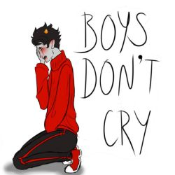 Boys Don't Cry Kankri by drowsydave
