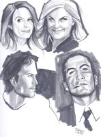 01022014 Faces Copic by guinnessyde