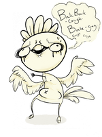 Sheldon the Chicken Man by Tacotron2000