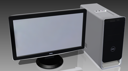 PC Monitor and Tower by Ash243x