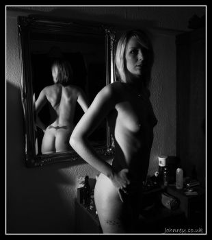 The Bum in the mirror by 365erotic