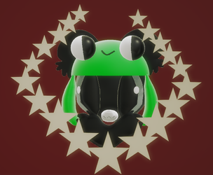!froggie! by caramelthepup