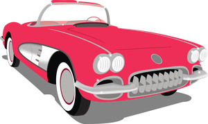 50s Chevrolet Corvette by Jakage