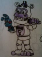 Adventure Funtime Freddy v6 by FreddleFrooby