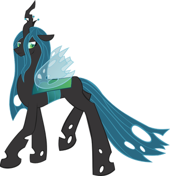 Queen Chrysalis is Displeased. by For-The-Darkspear