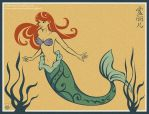 Ariel - The Little Mermaid by Villian-KucingKecil