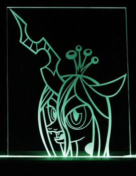 Queen Chrysalis LED Picture by steeph-k