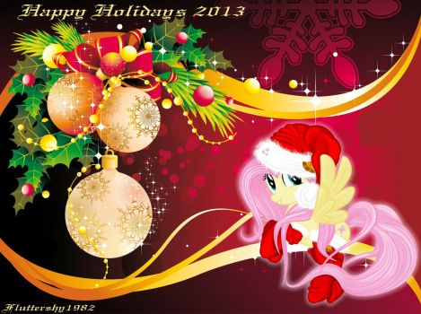 Happy Holidays by Fluttershy1982