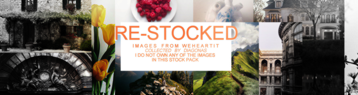 RESOURCES | re-stocked by Diagonas