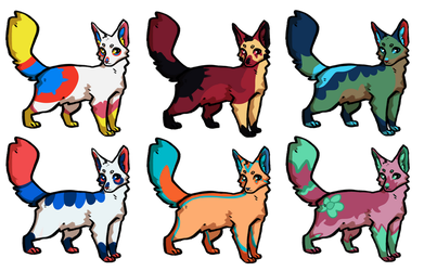 Open (6/6) - Cat adoptables by Wolfmylove04