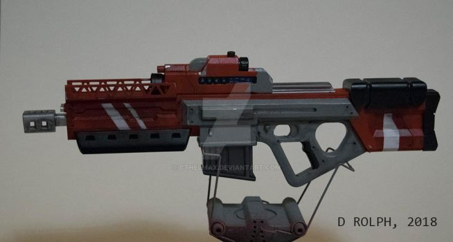 1:3 scale Smart Rifle by cthelmax