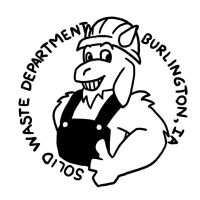 Burlington Solid Waste Department Logo by SeptemberSignal