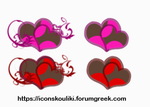 Hearts by IconSkoulikiGraphics