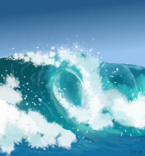 Wave by SeaFeathers
