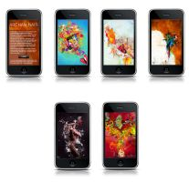 Art for Iphone at ITunes by archanN