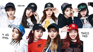 TWICE PNG Pack {MLB 2017} HQ by soshistars by soshistars