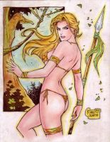 Jungle Girl (#3) by Rodel Martin by VMIFerrari