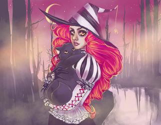 Witchy Woman by spookgeist