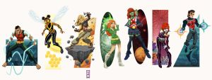 DCU Vol. 16: Teen Titans West by alexmax