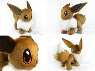 Lifesize Eevee Plush by FeatherStitched