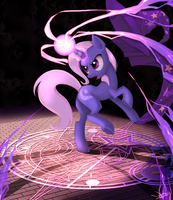 The Great and Powerful Trixie ... by ponyKillerX