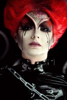 Black tears of Red Queen by Violet-Spider