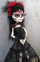 Monster High Day of the Dead Custom by AdeCiroDesigns