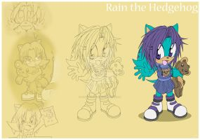 Rain the Hedgehog by Psychograve