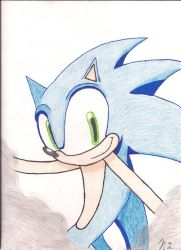 Sonic The Hedgehog by Niconic-crazyness