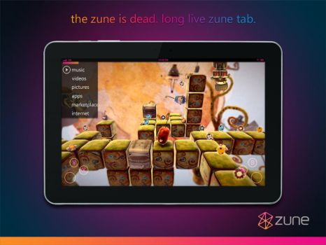 Long Live Zune Tab by Pau1adin