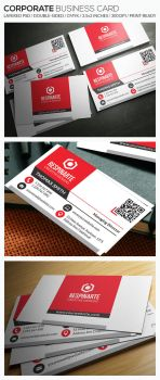 Corporate Business Card - RA76 by respinarte