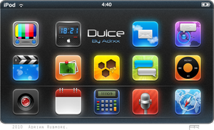'Dulce' iPhone Theme by adrxx