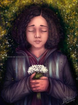 The Hunger Games: Rue's Death by Deih