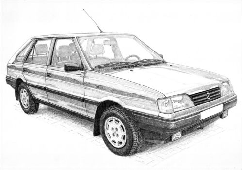 FSO Polonez Caro 2/3 by PaperGarage