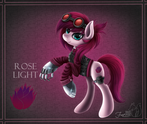 Rose Light by HoodieFoxy