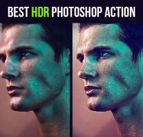 Premium HDR Photoshop Action by hemalaya