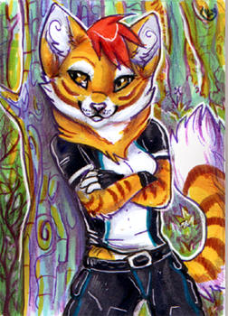 Aceo_JezzKitty by Kyuubreon