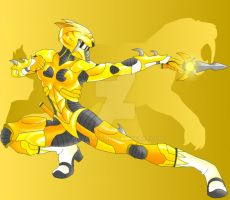 yellow power ranger by Know-Kname