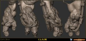 Claim Zbrush 4 by ced66