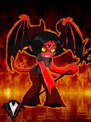 Chibi - Hotter than Hell - Satanae Mantra by PlayboyVampire