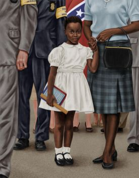 Ruby Bridges by dragynsart