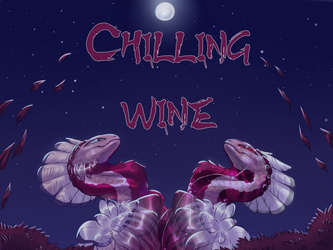 Chilling wine by MMuerti
