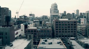 Northern Rooftops by DavidJosephGall