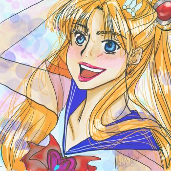 Sailor Moon by tooty-fruity