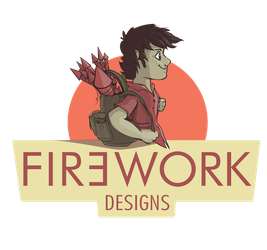 Fir3work designs logo, Now in Colors! by F1r3w0rks
