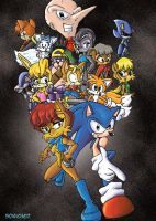 SatAM DX group pic by Soniched