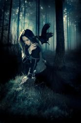 The Girl and her only Friend by Child0fBodom